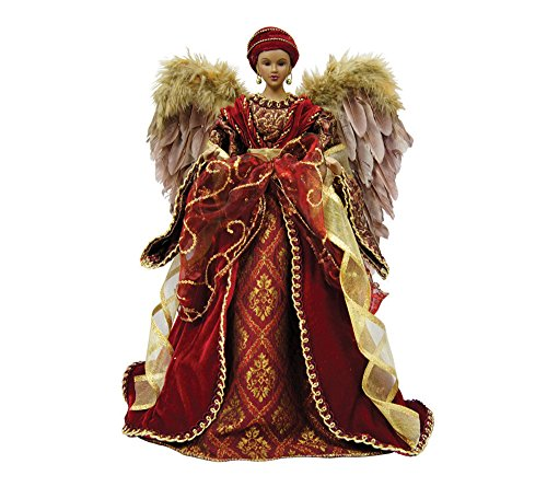 "Santa's Workshop 3078 Aa Diva Angel Tree Topper, 16"" ,,"