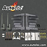 AutoLoc Power Accessories 9619 Two Door Automatic Pre-Aligned Suicide Hidden Hinge System