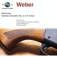 Overtures / Clarinet Cto 1 in F Minor