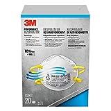 3M Advanced Filter Sanding and Fiberglass Non-vented Respirators, 20 Masks (N95)