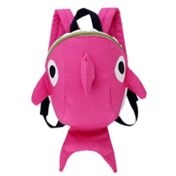 Toddler Kids Baby Boy Girl Mini Backpack Cartoon Elephant Plush Small School Bag