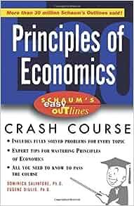 Schaum's Easy Outline of Principles of Economics: Dominick ...