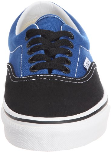 Vans Era, Zapatillas de skate Unisex Negro (Black/Snorkel Blue)
