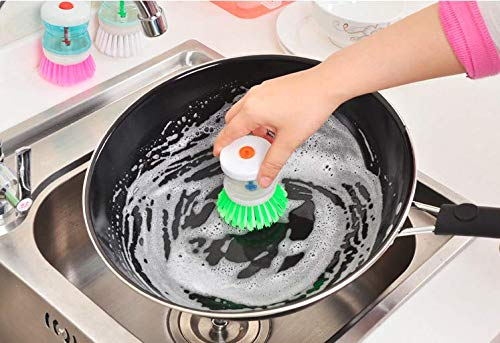 Creative Practical Kitchen Tools Automatically Add Liquid Cleaning Brush Cleaning Sets (Random) by Angoo Beauty