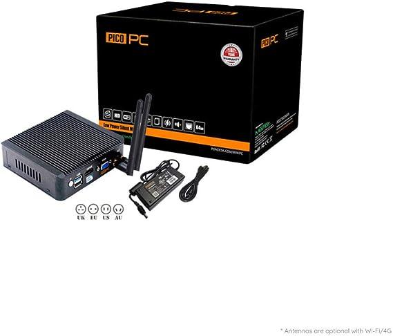 Picopc Intel Celeron J1900 4 Lan Fanless Firewall Computer Zubehör