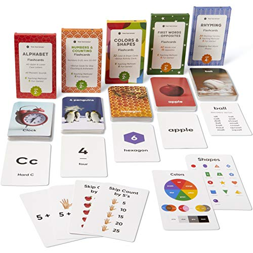 🥇 Think Tank Scholar Preschool Flash Cards Learning Bundle – Alphabet