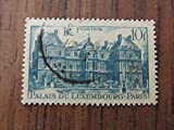 French Palais Du Luxembourg 10 franc postage stamp, Scott #569