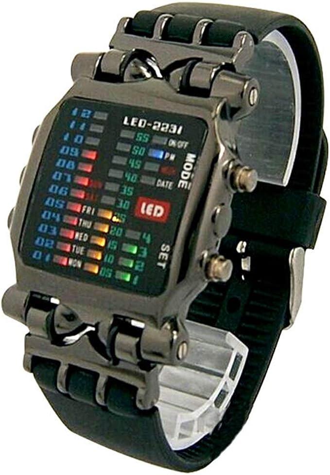 HWCOO TV Watch, TVG Watch Men's Waterproof Quartz Watch