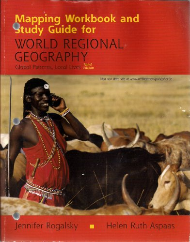 World Regional Geography Mapping Workbook and Study Guide