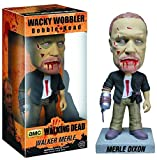 Zombie Merle Dixon Bobble Head Figure: Walking Dead x Wacky Wobbler Series