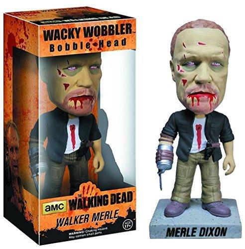 Zombie Merle Dixon Bobble Head Figure: Walking Dead - Merle Zombie Figure