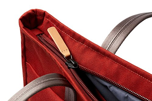 Bellroy Tokyo Tote, Water-Resistant Woven Tote Bag (13'' Laptop, Tablet, Notes, Cables, Drink Bottle, Spare Clothes, Everyday Essentials) Red Ochre by Bellroy (Image #6)