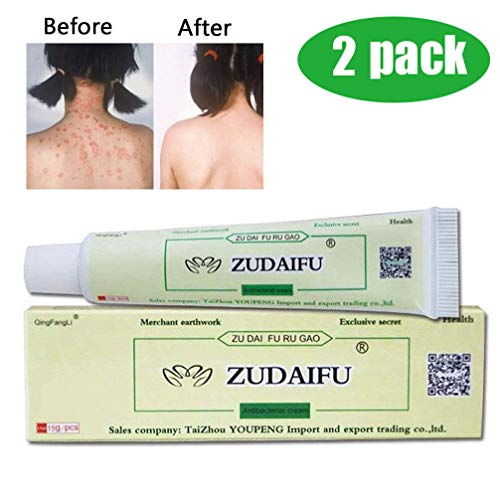 BEROSS 2PACK Antibacterial Ointment Creams Psoriasis Eczema Peeling ZUDAIFU Herbal Creams
