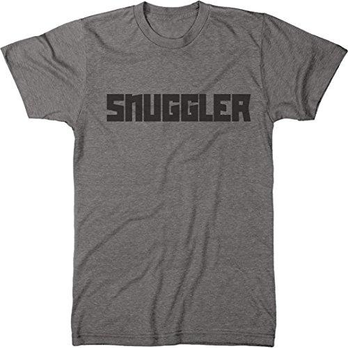 Snuggler Men's Modern Fit Tri-Blend T-Shirt (Premium Heather, Small)