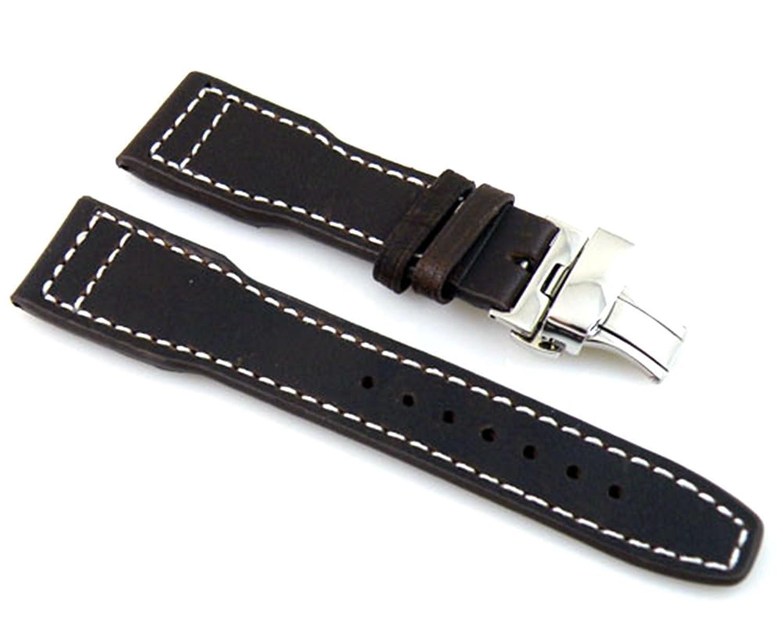 22 mmレザーストラップスチールバックル腕時計バンドバンド腕時計ストラップp81  B0749HL481