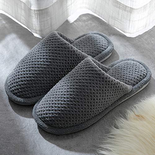 Donna Scarpe 8 Grey Calde Per Dark Mini Balabala Comode Pantofole Inverno Donne Coppie Casa Peluche Da Cotone ilwXTOPukZ