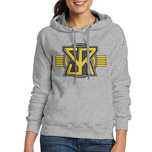 [JXMD Women's Seth Rollins Sweatshirt Ash Size XXL] (Nerf Boy Costume)
