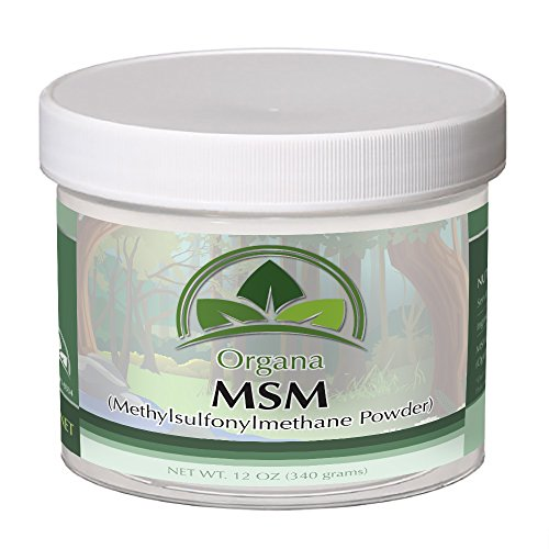 (The BEST MSM (Opti MSM) By Organa - Pure Fast Dissolving Crystal Powder Of Distilled Methylsulfonylmethane – Nutritious, Effective And Safe Dietary Supplement –Hypoallergenic - No Fillers or Additives)