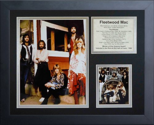 """Legends Never Die """"Fleetwood Mac Framed Photo Collage, 11 x 14-Inch"""