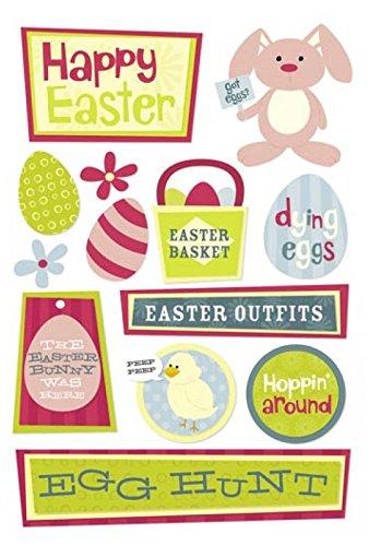 Rabbit Easter Card - 4