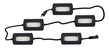 StonePoint LED Lighting Ultra Bright 50 Foot Ultra Bright Linkable Lights Job Site Lighting – Non