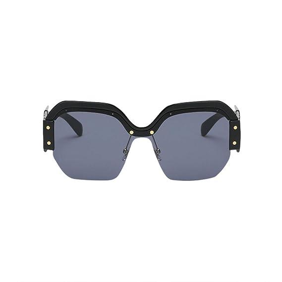 Gafas de sol para hombre polarizadas, Gafas de sol vintage mujer con marco retro UV400