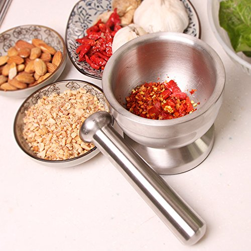 Bekith Brushed Stainless Steel Mortar and Pestle Review