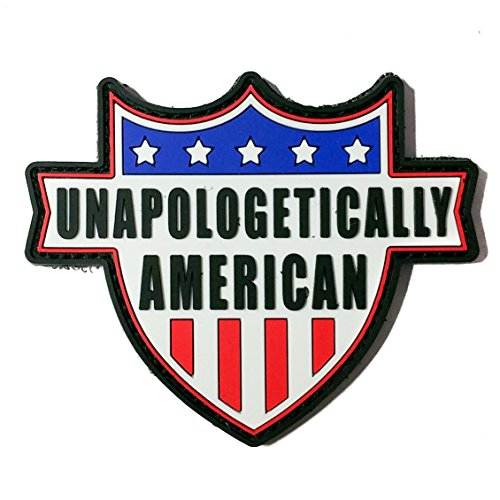 Unapologetically American PVC Morale Patch - Rubber Morale Patch, Hook Backed by NEO Tactical Gear