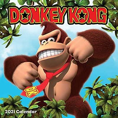 Donkey Kong 2021 Wall Calendar: Amazon.es: Nintendo: Libros en idiomas extranjeros