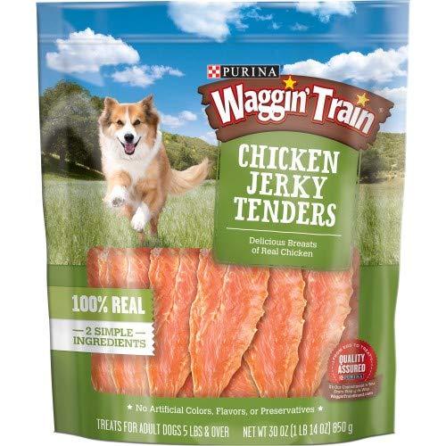 Purina Waggin' Train Jerky Tenders Dog Treats (Pack of 10)