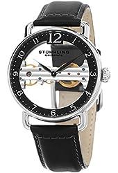 Stuhrling Original Men's Mechanical Skeletonized Bridge Dress Watch GP15665