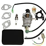 HIPA Carburetor with Air Filter Spark Plug for Honda GX340 11HP GX390 13HP 5000W-8000W Generator