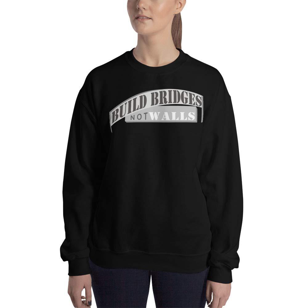 Unixex Sweatshirt Black STFND Build Bridges