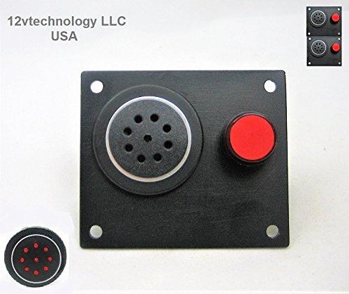 12vtechnology 12V Battery Discharge Low Voltage Alert Detector Level Alarm Monitor w/Mute button #BA8