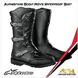 Alpinestars Scout WP Boots - 10/Black