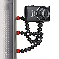Joby Magnetic Tripod with Universal Smartphone Tripod Mount Adapter for Point and Shoot, Compact System Cameras, Action Cameras and Smartphones from Joby