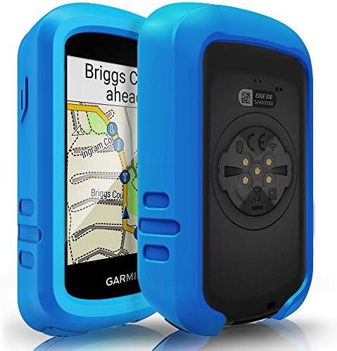 TUSITA Hülle für Garmin Edge 830 - Silikon Schutzhülle Skin - GPS Bike Computer Zubehör