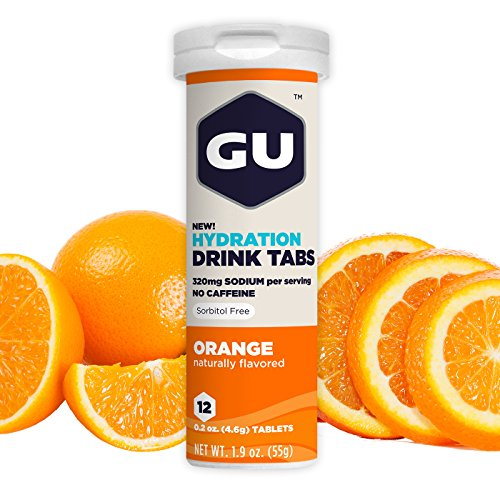 GU Hydration Electrolyte Tablets Orange