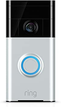 Ring Wi-Fi Enabled HD 720p Video Doorbell Works with HD Video
