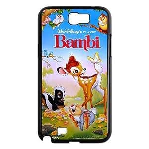samsung n2 7100 phone case Black Bambi DFG8450756