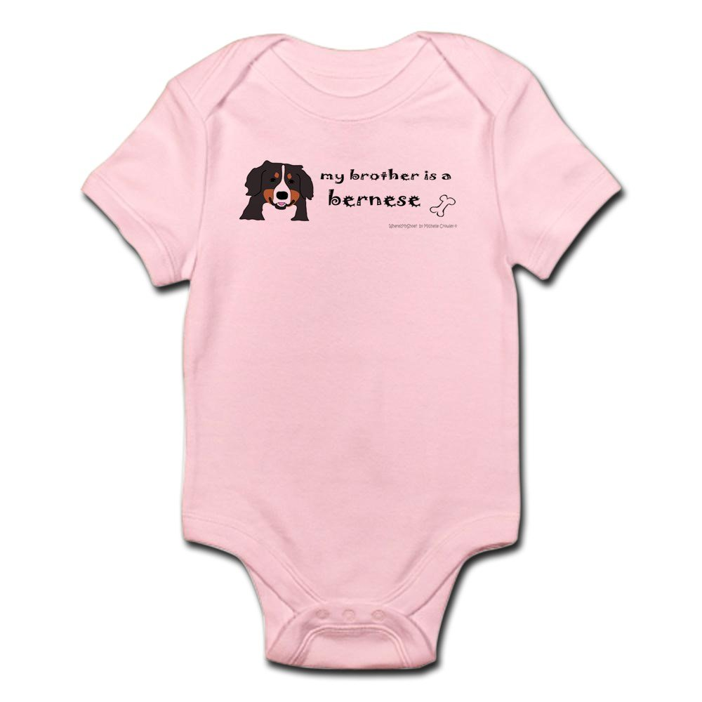 CafePress - Bernese Mountain Dog Gifts - Cute Infant Bodysuit Baby Romper