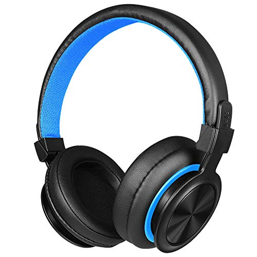Sonmer NUBWO N0 3.5MM Wire Over Ear Gaming Foldable Headset,With High-precision 50mm Driver Unit,with Volume Control Noise Reduction LED Backlight - Unit Backlight