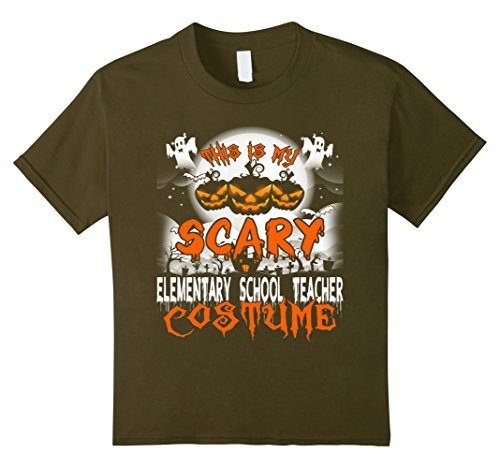 Costumes For Elementary School Teachers (Kids This is My Scary Elementary School Teacher Costume Halloween 6 Olive)