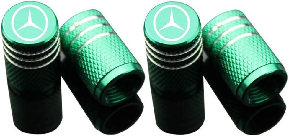 azfdxgfc 4 St/ück//Set Sport Styling Auto Zubeh/ör Auto Reifen Ventilkappen Kappe f/ür Mercedes Benz