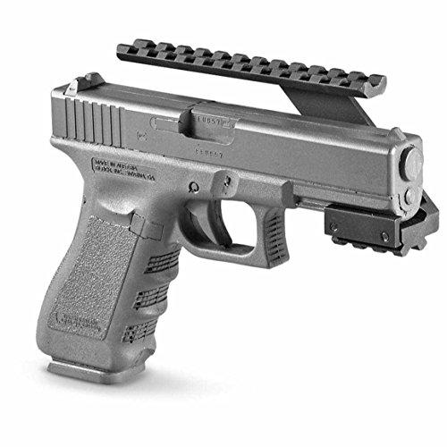 Upr Arm - Ultimate Arms Gear Pistol Handgun Scope Mount for Sights, Lasers, Lights and Accessories Fits Kel - Tec Keltec Ruger SR9 P95 Pistols
