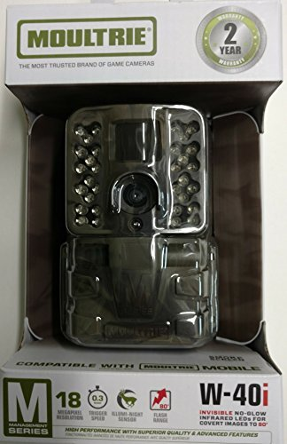 MOULTRIE W-40I 18MP MANAGEMENT SERIES DIGITAL GAME CAMERA