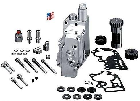 S&S Cycle Billet Aluminum Oil Pump 31-6203 (Aluminum Oil Pump Billet)