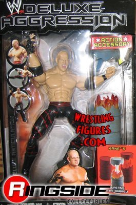 WWE Deluxe Aggression Kane Series 2 Action Figure WWF WCW ECW by Prannoi
