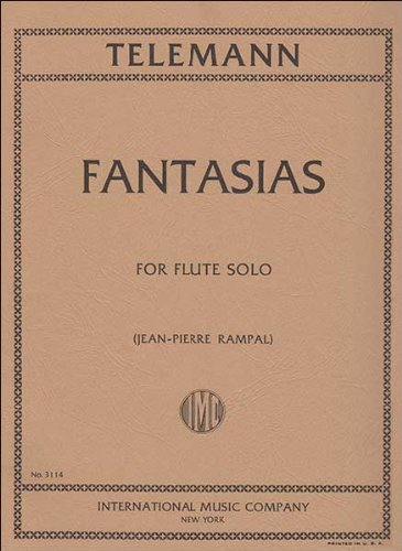 Read Online Telemann: Fantasias for Flute Solo ebook