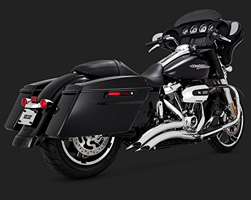 17-19 HARLEY FLHX2: Vance & Hines Big Radius 2-Into-2 Exhaust (Chrome)